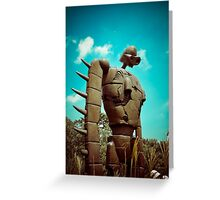 Castle in the Sky's Soldier Greeting Card