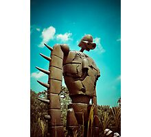 Castle in the Sky's Soldier Photographic Print