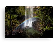 At the bottom - Purling Brook Falls Canvas Print