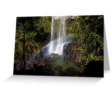 At the bottom - Purling Brook Falls Greeting Card
