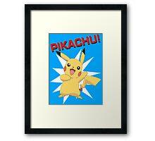 Pikachu! Framed Print