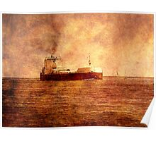 Great Lakes Shipping Poster