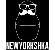 Newyorkshka doll black Photographic Print