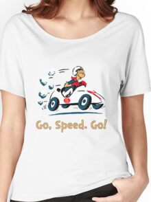 Go, Speed. Go! Women's Relaxed Fit T-Shirt