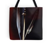 The Quill Is Mightier Than The Sword Tote Bag