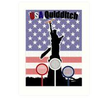 USA Quidditch Art Print