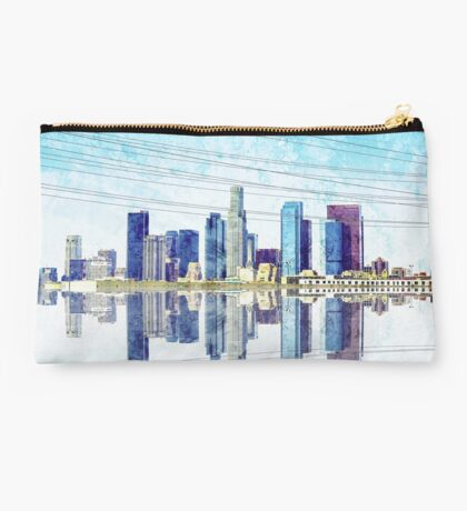 Los Angeles Skyline Studio Pouch
