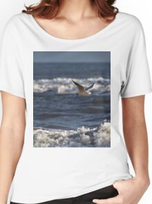 Seagull in flight Women's Relaxed Fit T-Shirt