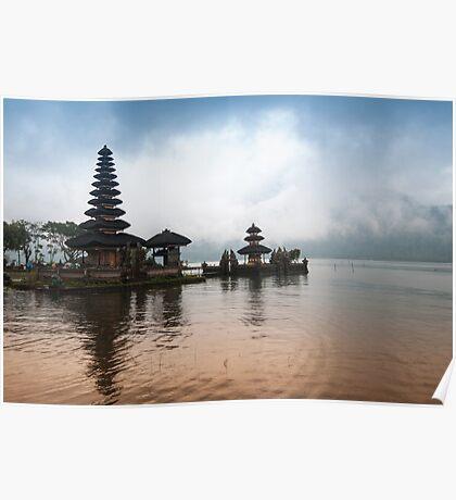 Ulan Danu Temple Poster