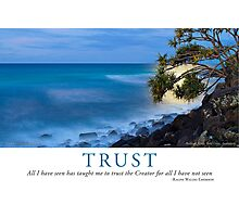 Trust Photographic Print