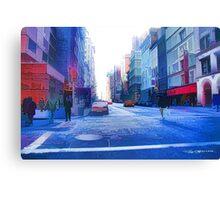 Broadway Canvas Print
