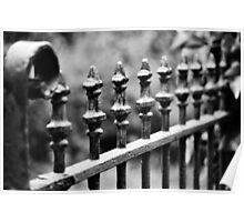 Wrought Iron Row Poster