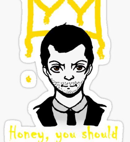 The Crown Sticker