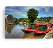 Rosie and Jim Canvas Print