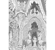 Detail of the facade ( Sagrada Familia ) Photographic Print