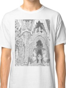 Detail of the facade ( Sagrada Familia ) Classic T-Shirt
