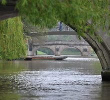 The River Cam by Hilda Rytteke