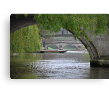 The River Cam Canvas Print