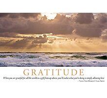 Gratitude Photographic Print