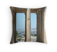 Athens Greece: Land of the Gods Throw Pillow