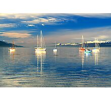 Ushuaia Harbour Photographic Print