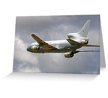 Lockheed TriStar K.1, ZD950, No.216 Sqn Greeting Card