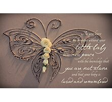 Memory Box Card for Baby Photographic Print