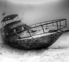 bohol boat wreck by paulcowell