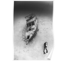 bohol boat wreck Poster