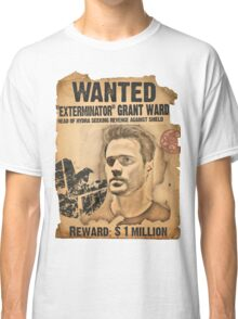 "Wanted: ""Exterminator"" Grant Ward Classic T-Shirt"
