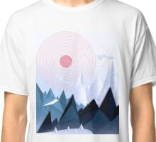Crystal Ice Mountains Classic T-Shirt