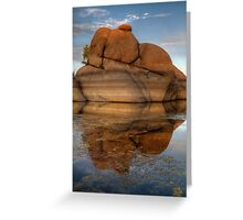 Sunset Float Greeting Card