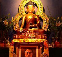Hi Holiness Dalai Lama's birthday by patcheah