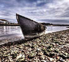 Beached on the River by Marcus Walters