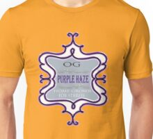 Weed Purple haze medicinal drug gifts  Unisex T-Shirt
