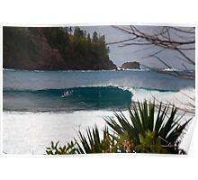 Ball Bay - Norfolk Island Poster