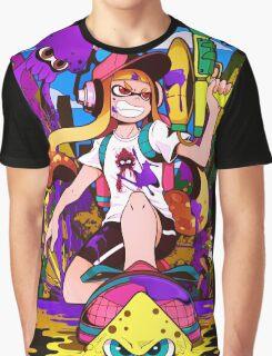 Splatoon Inkling Graphic T-Shirt