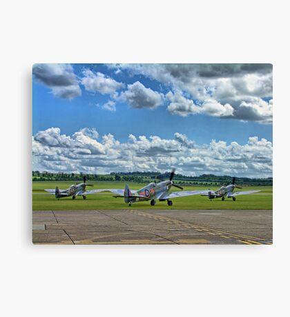 Three Flying Legends ! Canvas Print