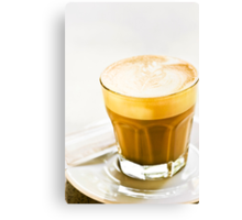 cafe latte Canvas Print