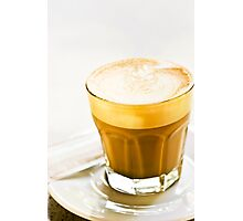 cafe latte Photographic Print