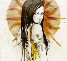 Arianne Martell by elia, illustration