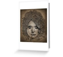 organic style Greeting Card
