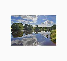 Yorkshire: River Wharfe Reflections Unisex T-Shirt