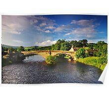 Bolton Bridge. Poster