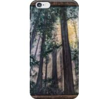 Redwood fog iPhone Case/Skin