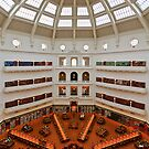 State Library - Melbourne by Hans Kawitzki