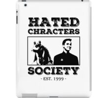 Hated Characters Society iPad Case/Skin