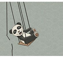 Panda breakes free Photographic Print
