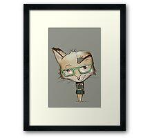 Innocent Fox? Framed Print