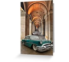 Low Cruiser Greeting Card